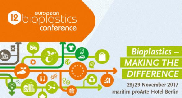 Biotec présent à la 12ème European bioplastics conference