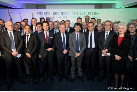 SPHERE et son président John Persenda s'engagent pour le climat en signant le French climate business pledge