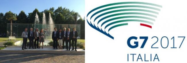 2017 SPHERE a participé au G7 environnement les 10 et 11 juin à Bologne