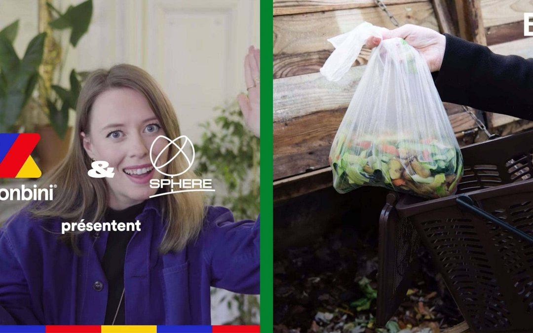 Une communication pédagogique dédiée aux bioplastiques biodégradables et compostables.