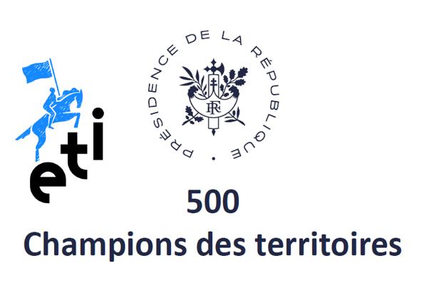 John Persenda PDG du groupe SPHERE reçu à l'Élysée comme un des «500 champions des territoires»