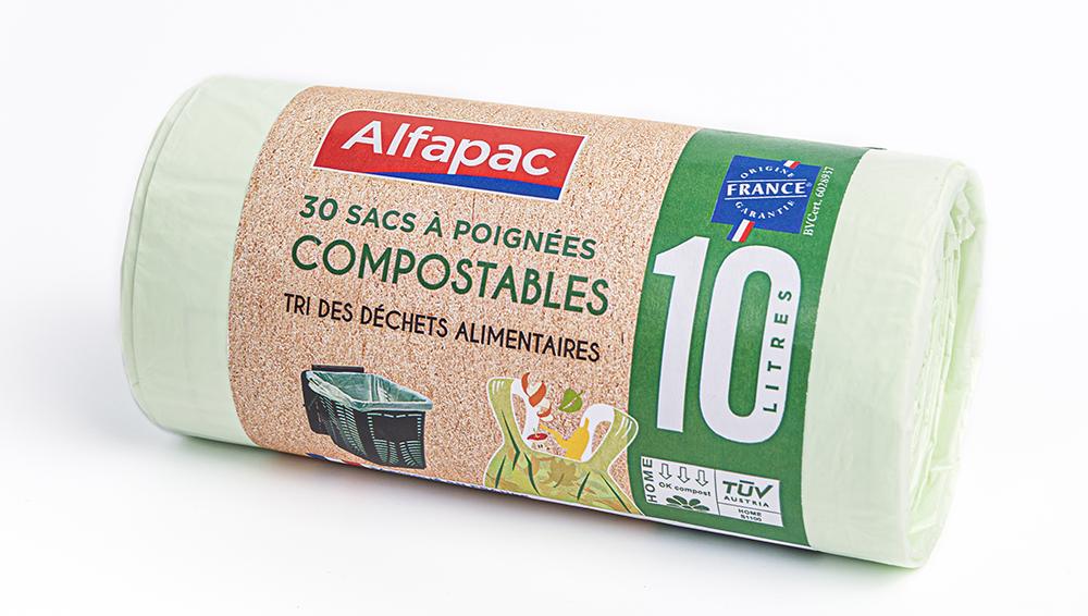 alfapac sac compostable