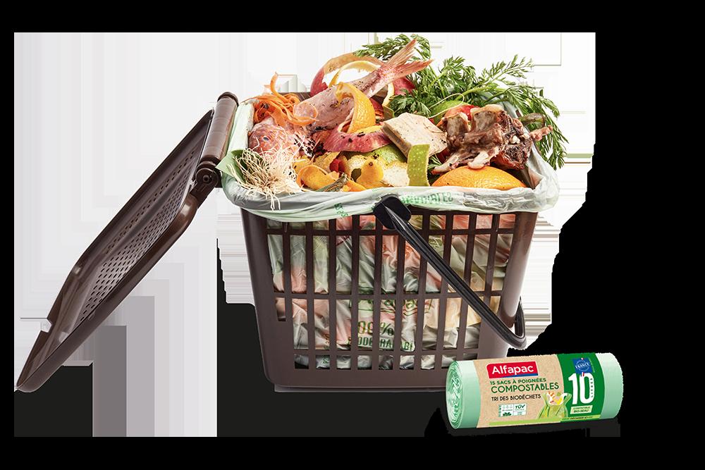 sac compostable
